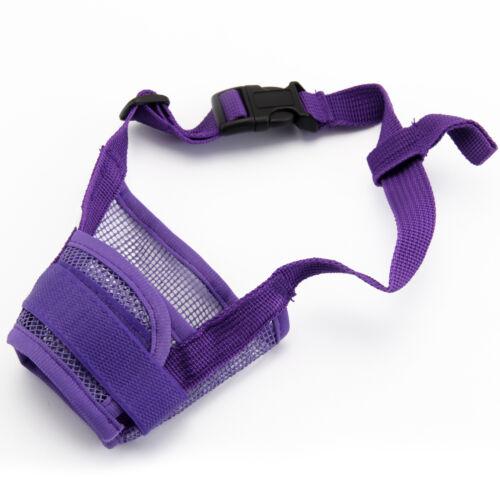 Dog Safety Muzzle Muzzel Adjustable Biting Barking Chewing Small Medium Large UK 4