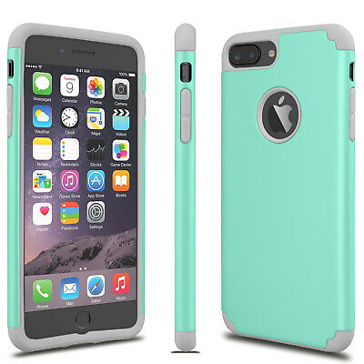 For iphone XS Max XR 6 7 8 Plus Luxury Slim Shockproof Rugged Rubber Case Cover 6