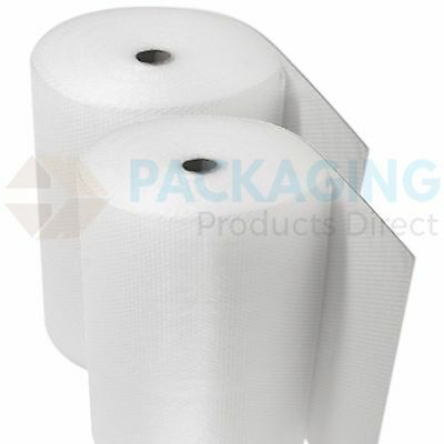 UK BUBBLE WRAP SMALL & LARGE BUBBLE - EUROPES CHEAPEST 300 500 750mm 50 / 100m 3