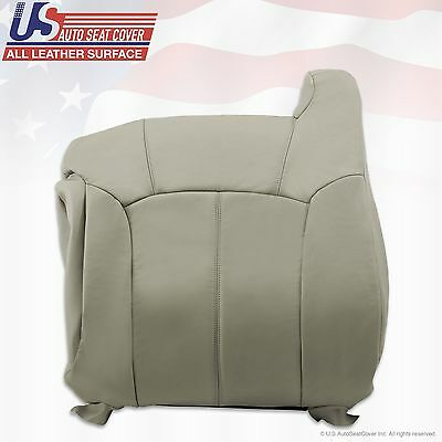 1999 2000 2001 2002 Chevy Tahoe Suburban Upholstery leather seat cover Gray 7
