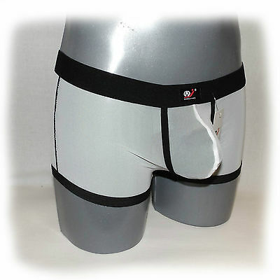 WJ - Boxer Schwarz Transparent Size M - extra heiß -  (556) 3