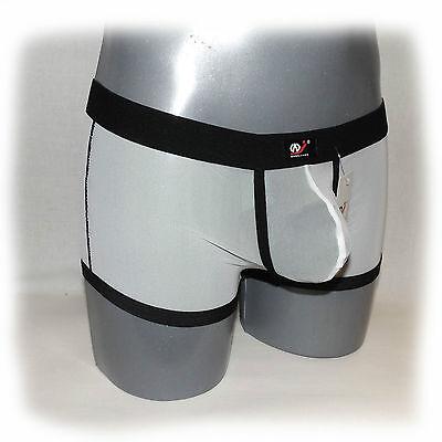 WJ - Boxer Schwarz Transparent Size XL - extra heiß -  (558) 3