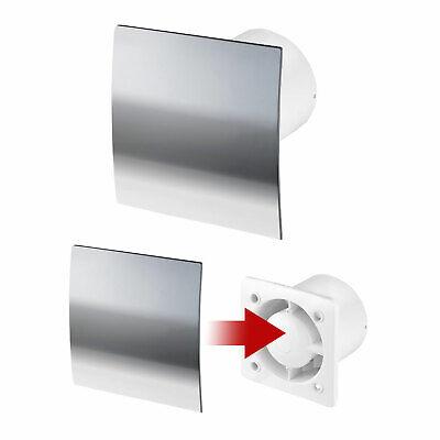 Badlufter Leise 100 125 Mit Feuchtesensor Nachlauf Bad Wc Wand Ventilator Abluft Eur 24 59 Picclick De