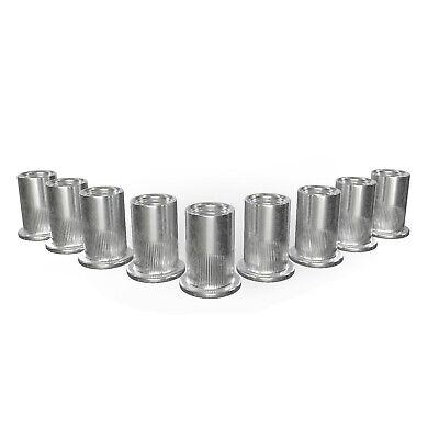 275tg Aluminium Nietmuttern-Set-Satz-Sortiment M3 M4 M5 M6 M8 M10 M12 Nietmutter