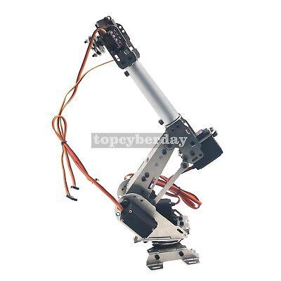 6-Axis S6 Industrial Mechanical Robot Arm Steel Metal Robotic Manipulator DIY UK 4