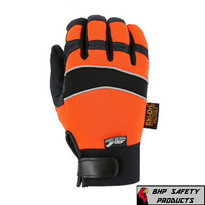 Warm Insulated Waterproof Gloves Majestic Mfg Armorskin Winter Hawk All Sizes