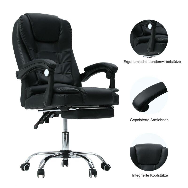 Massage Chefsessel Bürostuhl Schreibtischstuhl Drehstuhl Gaming Stuhl Arbeit