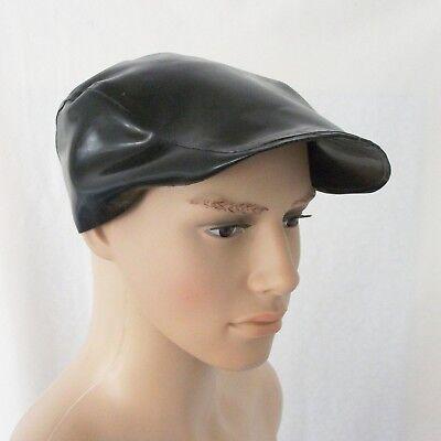 Latex chloriert Schirmmütze Flatcap 2