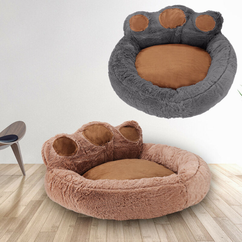 Large Fleece Pet Dog Cat Bed Puppy Cushion House Sleep Rest Kennel Paw Blanket 2