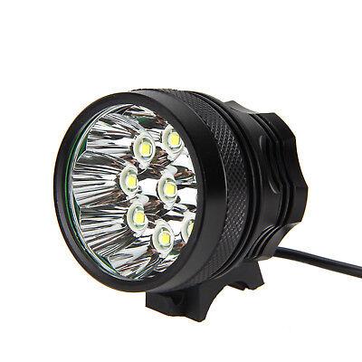 Super Bright 50000LM 9x T6 LED Bike Bicycle MTB Head Light Headlamp+Rear Light 6