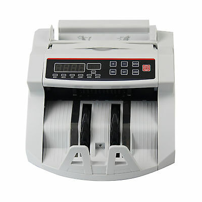 USA Money Bill Currency Counter Counting Machine Counterfeit Detector UV MG Cash 5