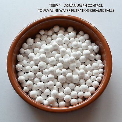 100g!TOURMALINE WATER FILTRATION CERAMIC MINERAL BALLS  BENEFITS FISH & SHRIMPS