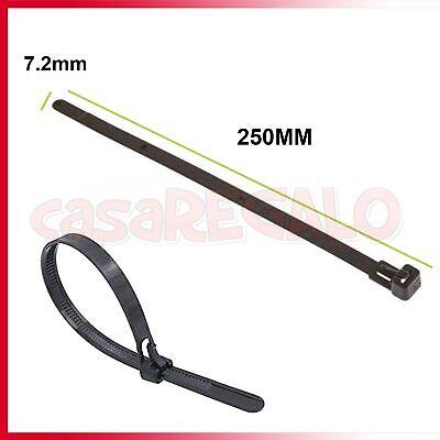 Cable Ties Zip Nylon Plastic Releasable Reusable Wraps Ratchet Wire AU 2