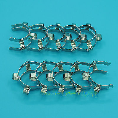 10 Pcs 29/32,29/42,Metal Clip,Keck Clamp,For 29# Glass Ground Joint 5