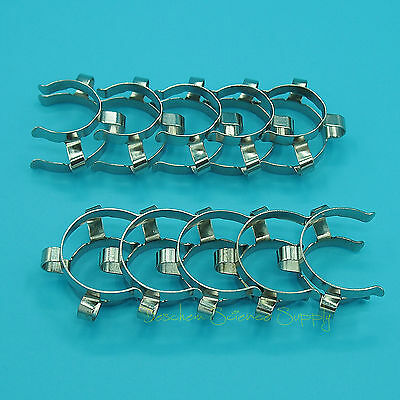 10Pieces 24/29,24/40,Metal Clip,Keck Clamp,For 24# Glass Ground Joint 5