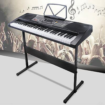 61 Key Music Electronic Keyboard Electric Digital Piano Organ with Stand 2