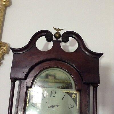 Antique Oak Grandfather Clock 5