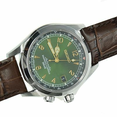 SEIKO SARB017 Mechanical Alpinist Automatic Men's Leather Watch - Made In Japan 2