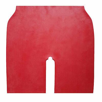 Latex Radler aus Gummi in rot , Einheitsgröße (Ouvert) 4