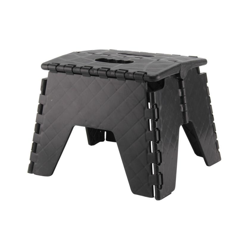 Plastic Multi Purpose Folding Step Stool Home Kitchen Easy Storage Foldable New 2