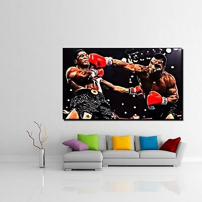 Boxer Boxen Ring Sport XXL Wandbild Kunstdruck Foto Poster P0607