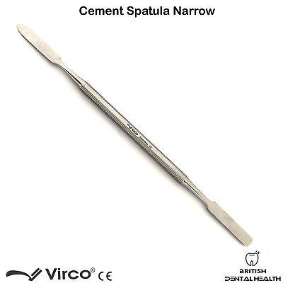 Dental Cement Spatula Wax Amalgam Mixing Spatula Narrow German Stainless Stel Ce 2