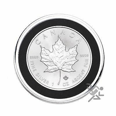 Air-Tite 38mm Black Ring Morgan Silver Dollar Coin Capsules 25 Pack 2