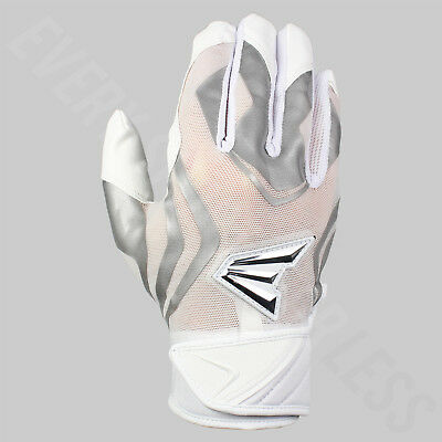 Easton Prowess Womens' Softball Batting Gloves - White / Gray (NEW) Lists @ $30