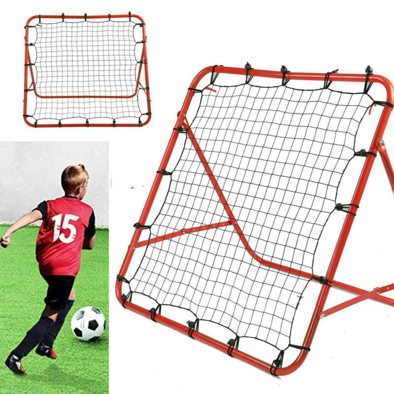 New Rebounder Net Kids Adults Football Training Aid Practice Adjustable 8