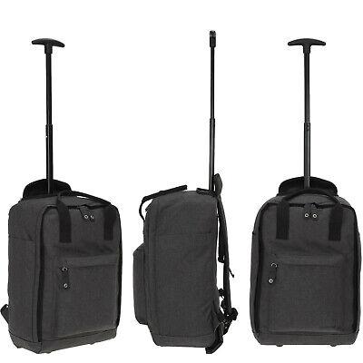 Handgepäck Rucksack Trolley Worldpack Reisetasche Weekender 30328-0100 Schwarz 5
