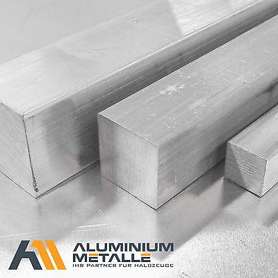 Alu Vierkant Aluprofil Aluminium Vierkantstange Aluminiumprofil Länge wählbar