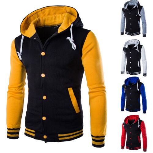 purchase cheap d3682 9563b HERREN JACKET BASEBALLJACKE Mantel College Bomberjacke Sweatjacke Winter  Jacken
