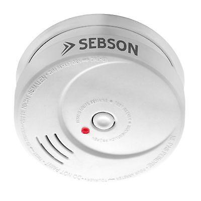Rauchwarnmelder, Magnethalterung, 10 Jahre, EN14604, SEBSON GS506 6er Set 3