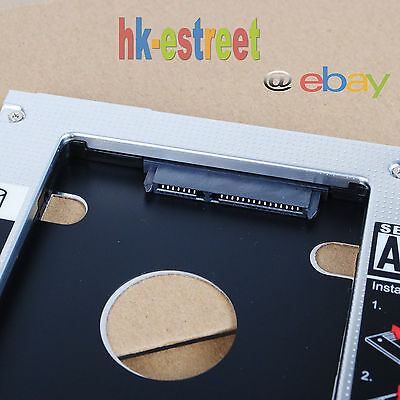 2nd HD Hard Drive HDD SSD Caddy Adapter for ASUS N56 N76 N56J G56JR D52dr Series