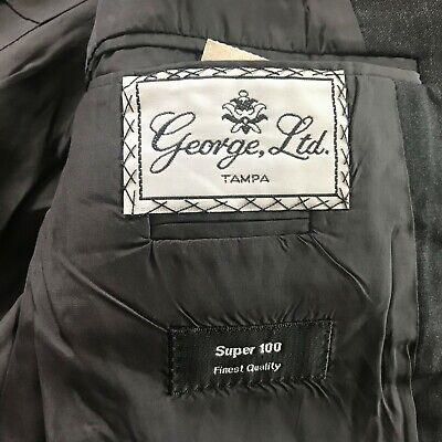 Hugo Boss Sz 42 R Gray Wool Two Button Men's Sports Coat Blazer 6