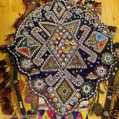 Beautiful Antique 1900-1930s Tribal Decorative,Ceremonial Wall Hanging Turkey 4