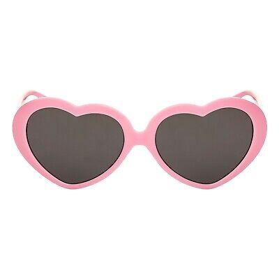 1eb3acb8ca ... Coeur Rose Enfants Lunettes de Soleil Uv400 Classique Filles Lolita A  la Mode 3