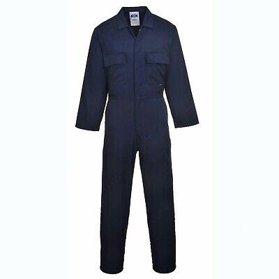 Personalised Embroidered Overalls Custom Printed Coveralls Workwear Boiler Suit 3