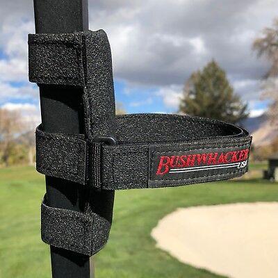 Bushwhacker Speaker Mount for Golf Cart Railing Blue Tooth Holder Wireless Bar 2