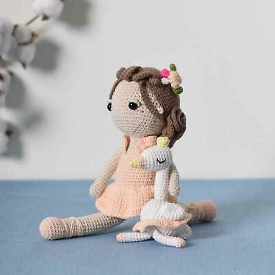 Cat Ballerina Amigurumi Doll - Free Crochet Pattern! - AmVaBe Crochet | 400x400