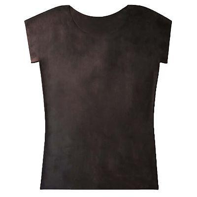 Latex Shirt aus Gummi in schwarz, Einheitsgröße 4