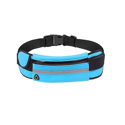 Running Belt Unisex Sport Jogging Phone Keys Mobile Money Bum Bag Waist Travel 7
