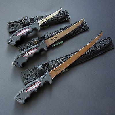 Messerschleifer Filetierhandschuh Behr Fisch-und Filetiermesser