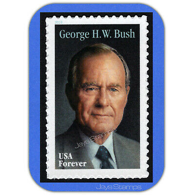 2019  GEORGE H. W. BUSH  Genuine  USPS  Forever® Individual MINT Stamp  # 5393 2