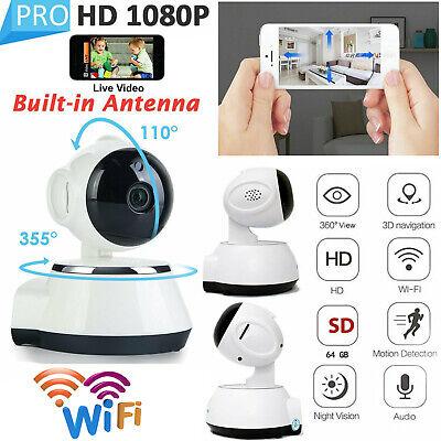 1080P HD Wireless IP Camera Home Security Smart WiFi Audio CCTV Camera UK 2