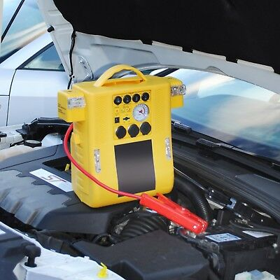 12V 400a 900a PORTABLE CAR JUMP START BATTERY BOOSTER POWER AIR COMPRESSOR PACK
