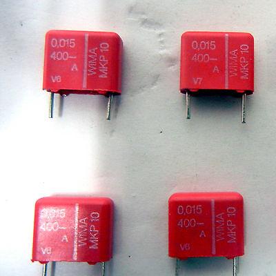 WIMA MKP10 0.015//400//10 0.015uF 400V 10/% POLYPROPYLENE CAPACITOR 10