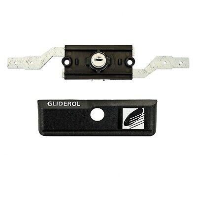 Roller Door Lock Gliderol With Faceplate & Keys Suits Garage Roller Doors B&D 5