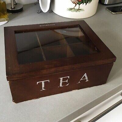Riverdale. Caja De Te De Madera. Tea Box 2