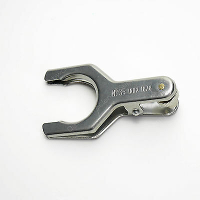 S35 Stainless Steel Clamp 35/20 35/18 Spherical Joint Glassware Clip 2